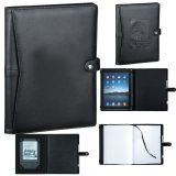 Black Pedova ETech JournalBook with Snap Closure