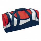 Red/White/Navy Sunset Sports Bag