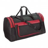 Black/Red Magnum Sports Bag