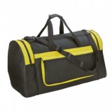 Black/Yellow Magnum Sports Bag
