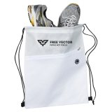 White Wave Strider Bags