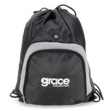 Black/Silver Backsack Express