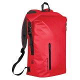 Black Red Cascade Waterproof Backpack