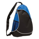 Black Royal Blue Metro Sling Bag