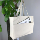 Natural Delton Canvas Large Shopper