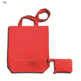 Red Foldable Calico Bag