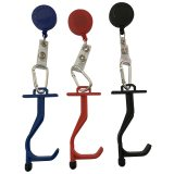 COVID Retractable Keychain Anti-Germ Utility Tool 3 colours
