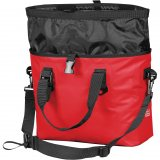 Bold Red Open View Aquarius Waterproof Tote