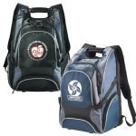 Black and Blue Elleven Drive Compu-Backpack