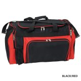 Black/Red Classic Sports Bag
