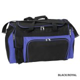 Black/Royal Classic Express Sports Bag