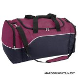 Maroon/White/Navy Align Express Sports Bag