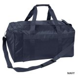 Navy Nylon Sports Bag