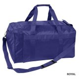 Royal Nylon Sports Bag