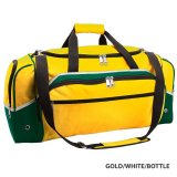 Gold/White/Bottle Advent Express Sports Bag