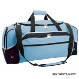 Sky/White/Navy Advent Express Sports Bag