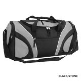 Black/Stone Fortress Sports Bag Express