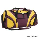 Maroon/Gold Fortress Sports Bag Express