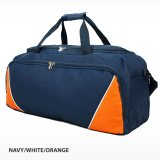 Navy/White/Orange Fitness Sports Bag
