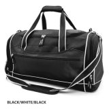 Black/White Delta Express Sports Bag