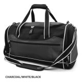 Charcoal/White/Black Delta Sports Bag Embroidered