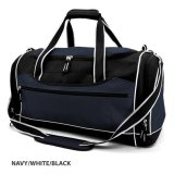 Navy/White Delta Sports Bag Embroidered
