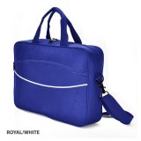Royal/White Conference Bag