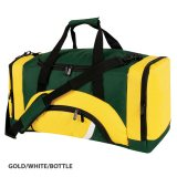 Gold/White/Bottle Precinct Sports Bag