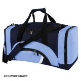 Sky/White/Navy Precinct Sports Bag