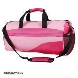 Pink/Hot pink Roll Sports Bag