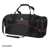 Black/Red Victory Sports Bag