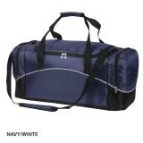 Navy/White Victory Sports Bag