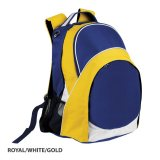 Royal/White/Gold Harvey Backpack