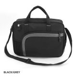 Black/Grey Magnum Laptop Shoulder Bag