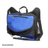 Black/Royal Cobalt Satchel Offshore Express
