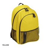 Yellow Casual Backpack