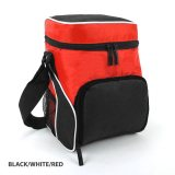 Black/White/Red Cooler Bag
