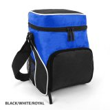 Black/White/Royal  Cooler Bag