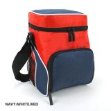 Navy/White/Red Cooler Bag
