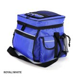 Royal/White Double Up Cooler Bag Express