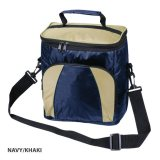 Navy/Khaki Atrium Cooler Bag