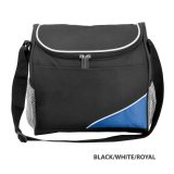 Black/White/Royal Caddy Carry Cooler Bag
