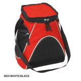 Red/White/Black Sports Cooler Bag