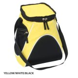 Yellow/White/Black Sports Cooler Bag