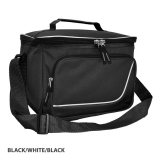 Black/White Inspire Insulated Cooler Bag