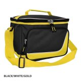 Black/White/Gold Inspire Insulated Cooler Bag