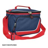 Navy/White/Red Inspire Insulated Cooler Bag