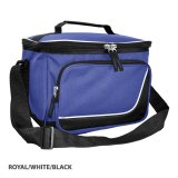 Royal/White/Black Inspire Insulated Cooler Bag
