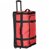 Red Side View Gemini Rolling Bag [M]