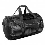 Black/Black Waterproof Gear Bag Medium